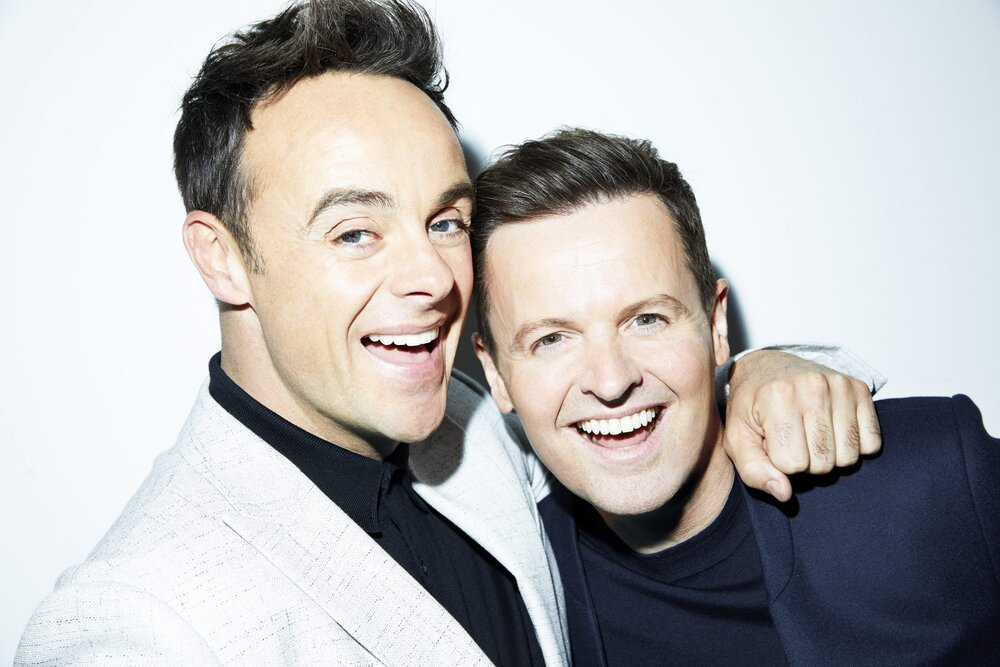 Ant and Dec's 30 Greatest Moments to air on Channel 5