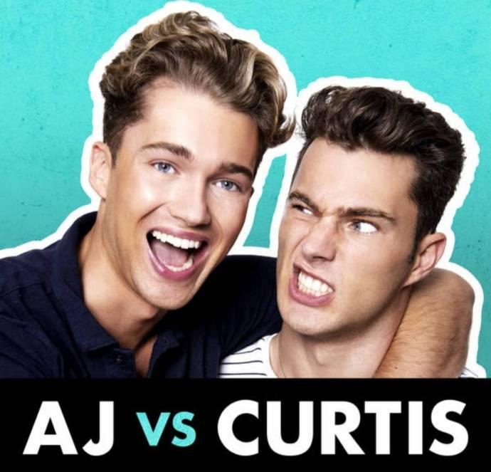 AJ Vs Curtis Pritchard Podcast