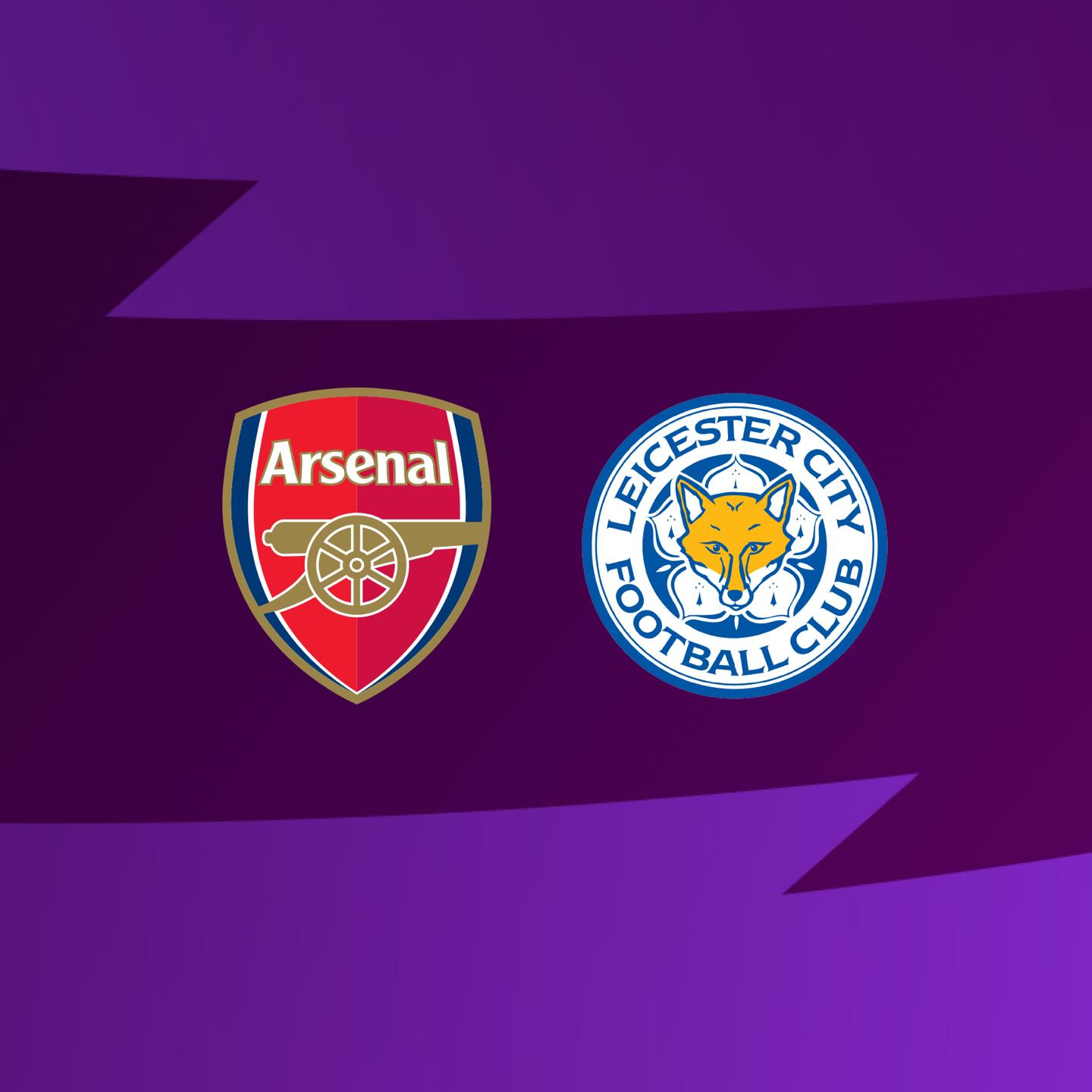 What channel is LCFC Vs Arsenal on?