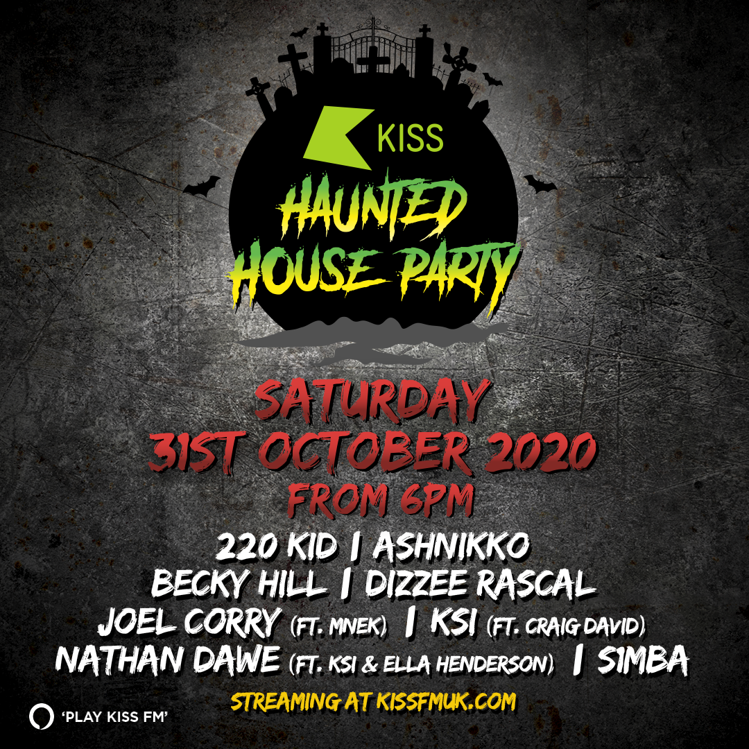 Kiss FM announce huge lineup for KISS Haunted House Party