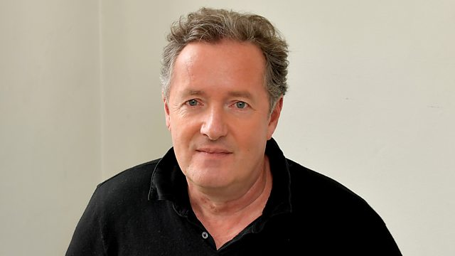Piers Morgan and steve wright radio 2