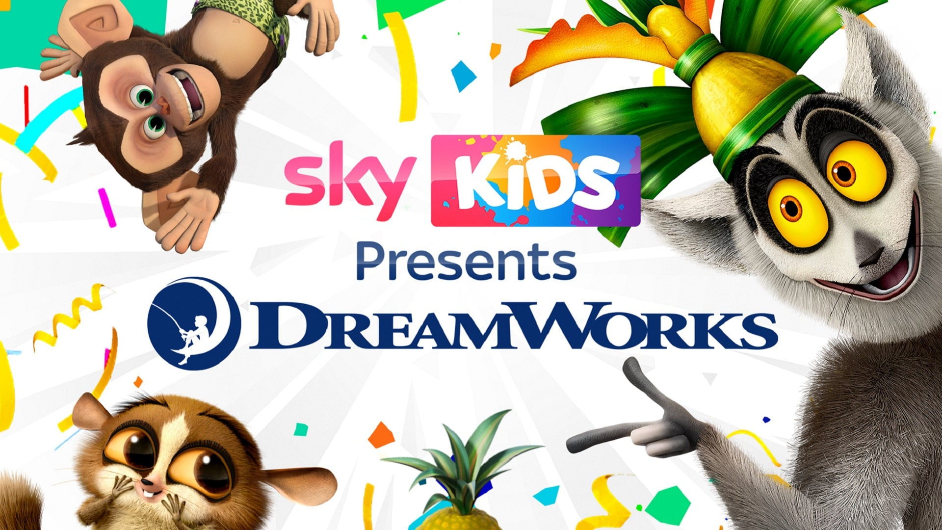 Sky announce new partnership with Dreamworks