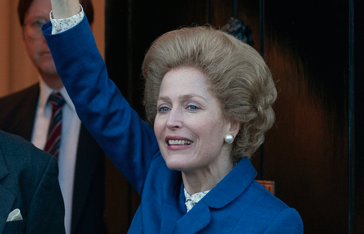 Gillian Anderson shines in new Netflix trailer for The Crown